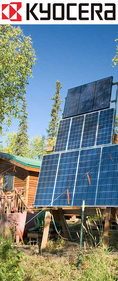 Camp Solar power system